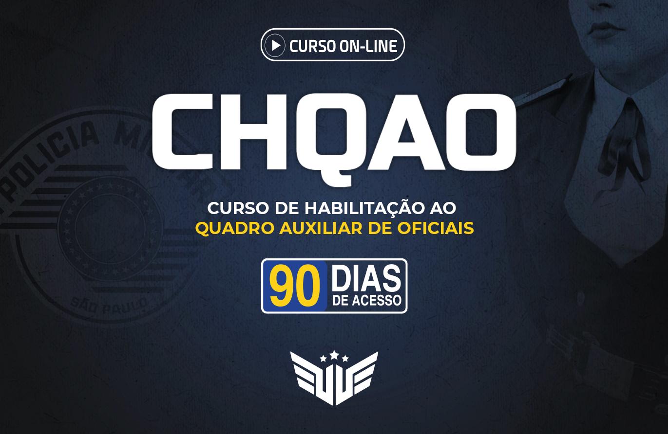 CHQAO PM-SP | Curso Preparatório - 90 dias