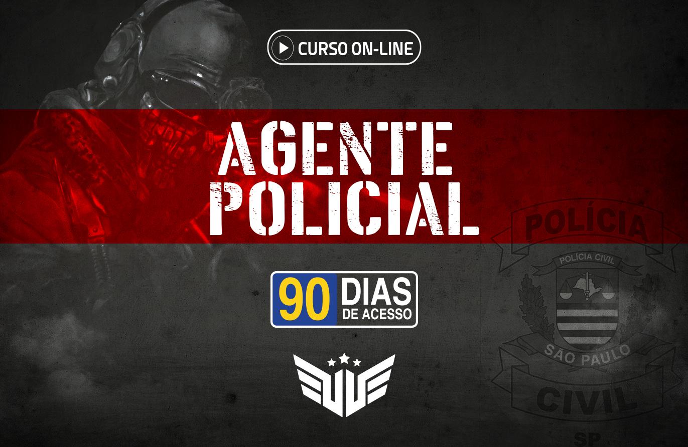 Agente Policial | Curso Preparatório - 90 dias