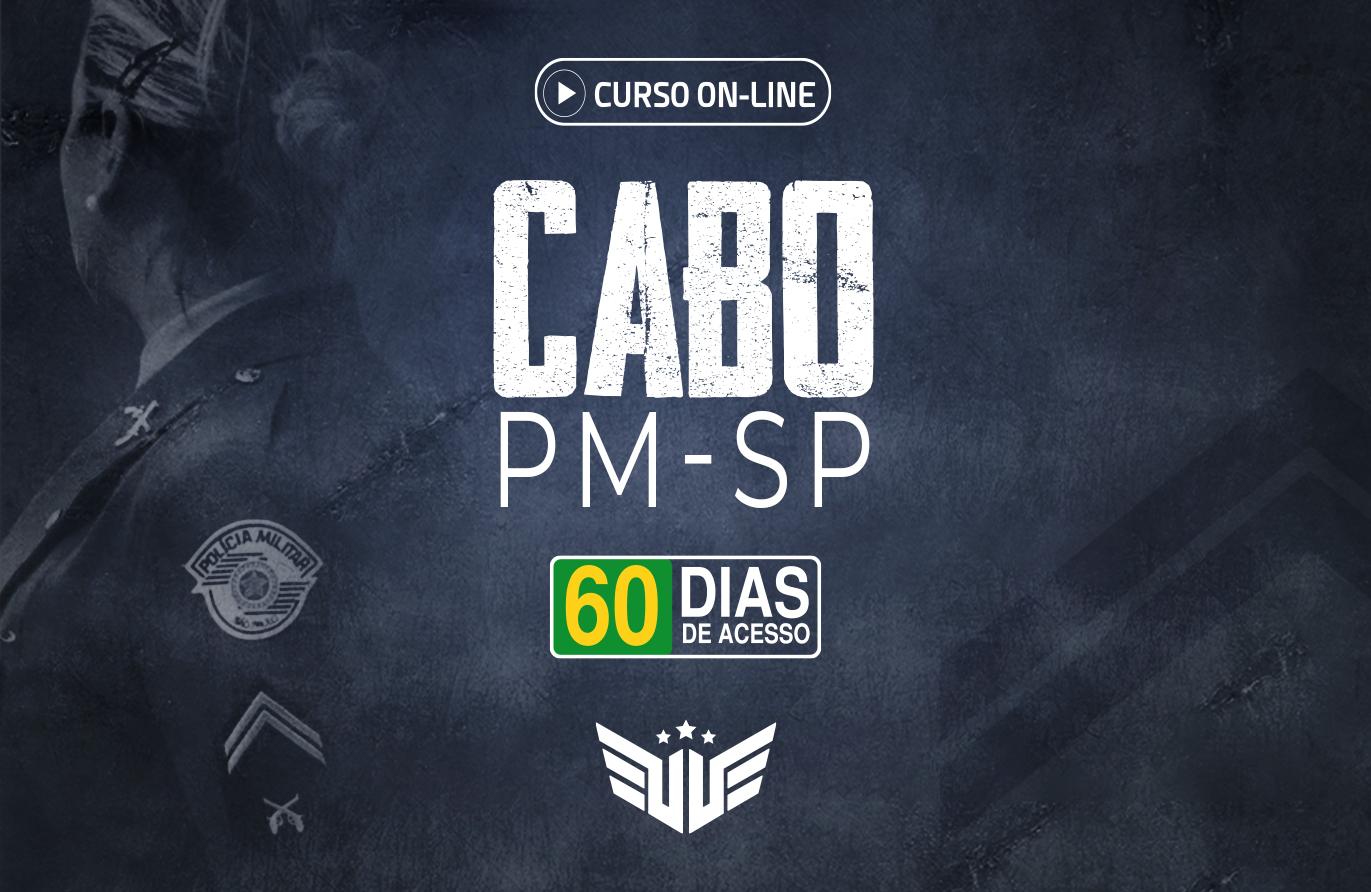 Cabo PM-SP | Curso Preparatório - 60 dias