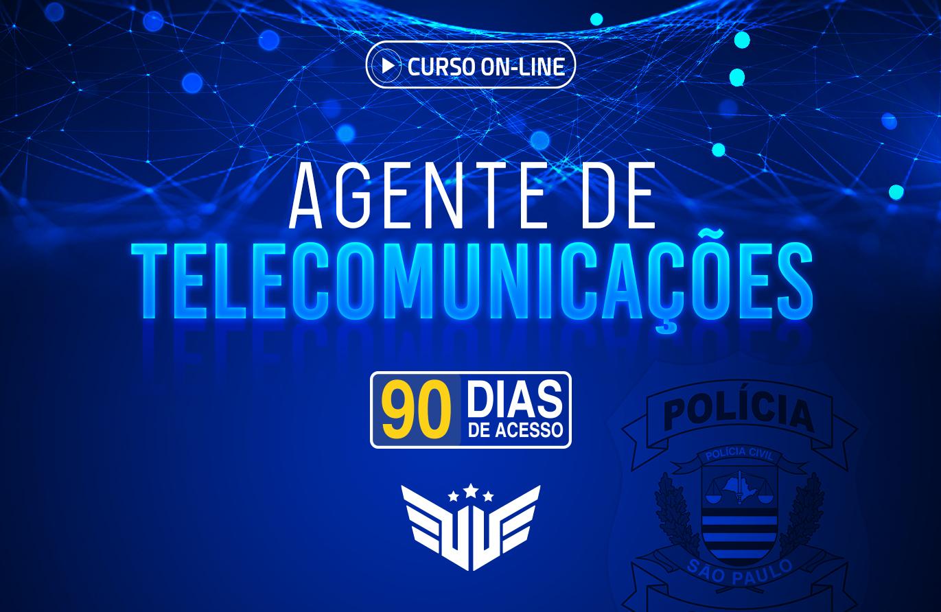 Agente de Telecomunicações | Curso Preparatório - 90 dias