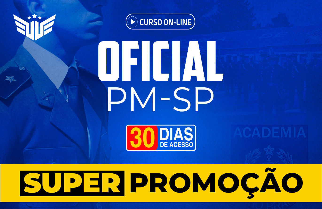 Oficial PM-SP | Curso Preparatório - 30 dias