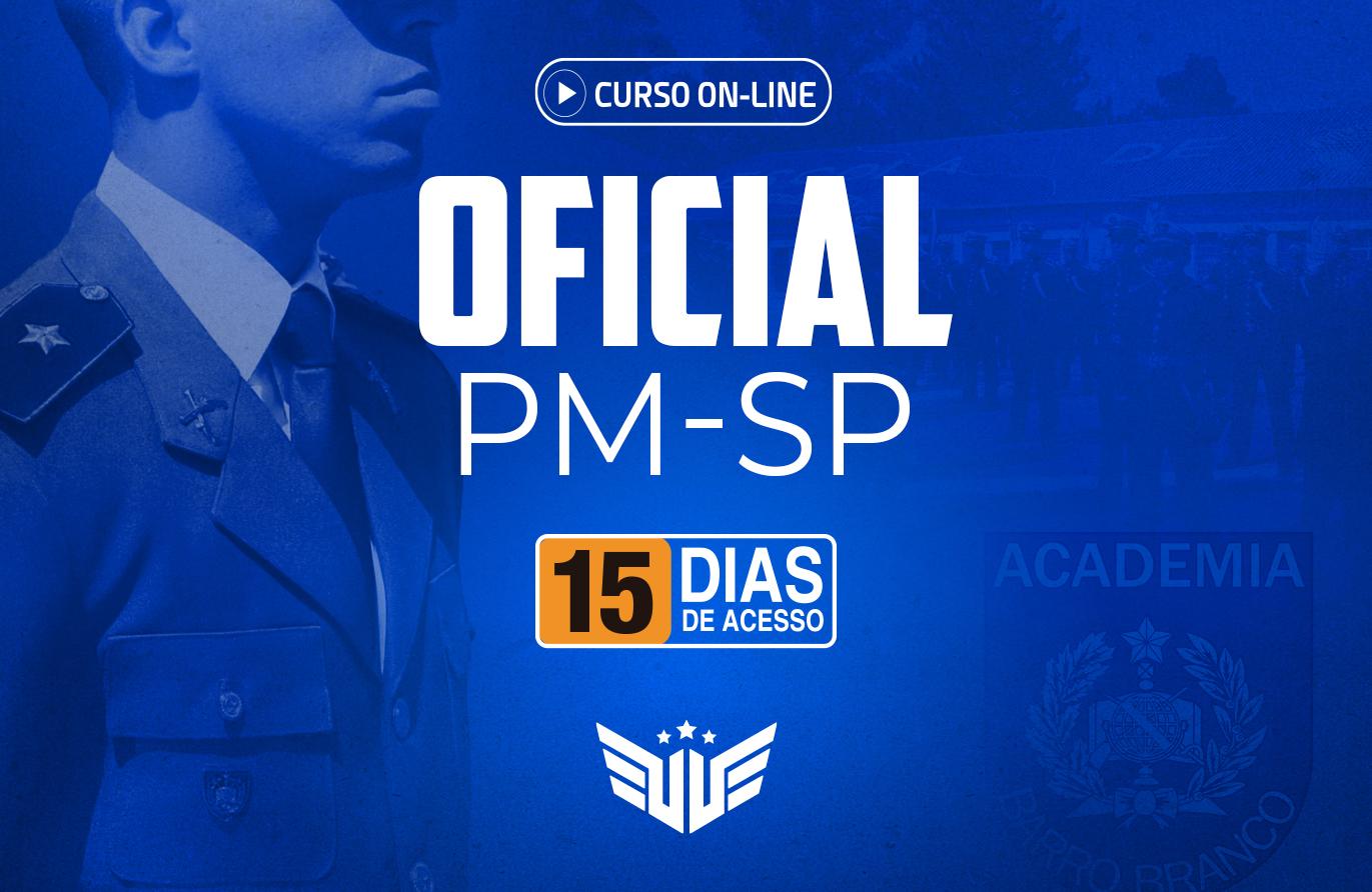 Oficial PM-SP | Curso Preparatório - 15 dias