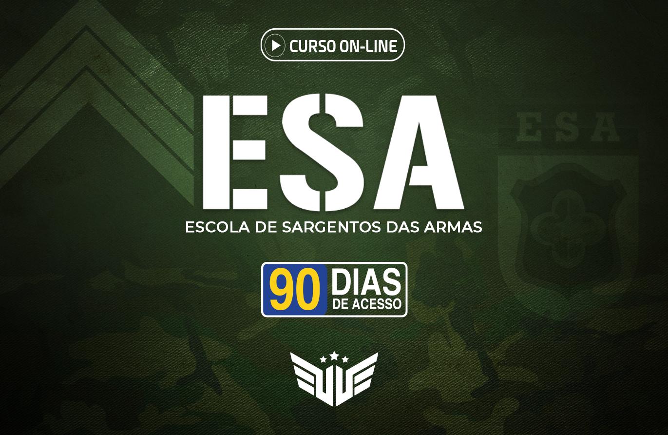ESA | Curso Preparatório - 90 dias