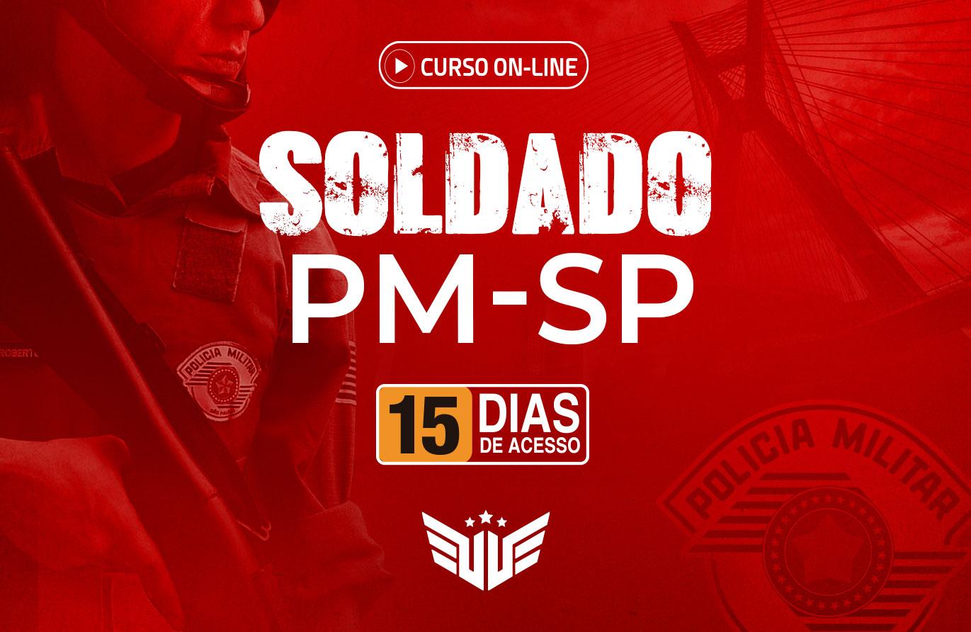 Soldado PM-SP | Curso Preparatório - 15 dias