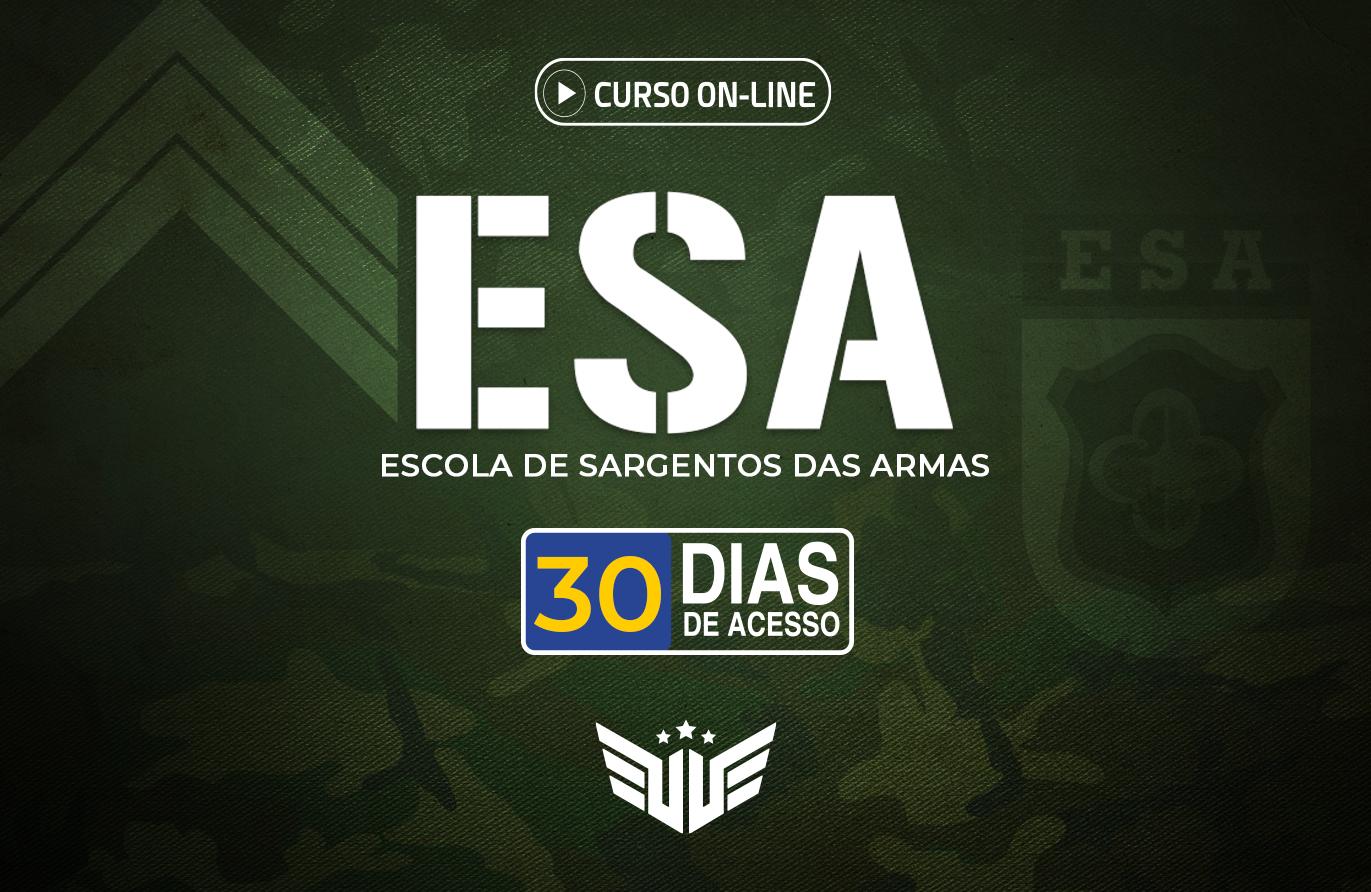 ESA | Curso Preparatório - 30 dias