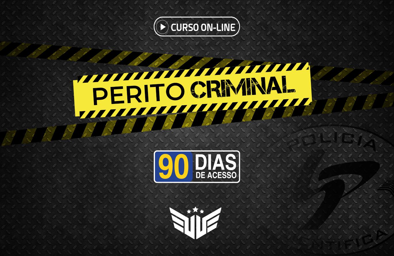 Perito Criminal | Curso Preparatório - 90 dias