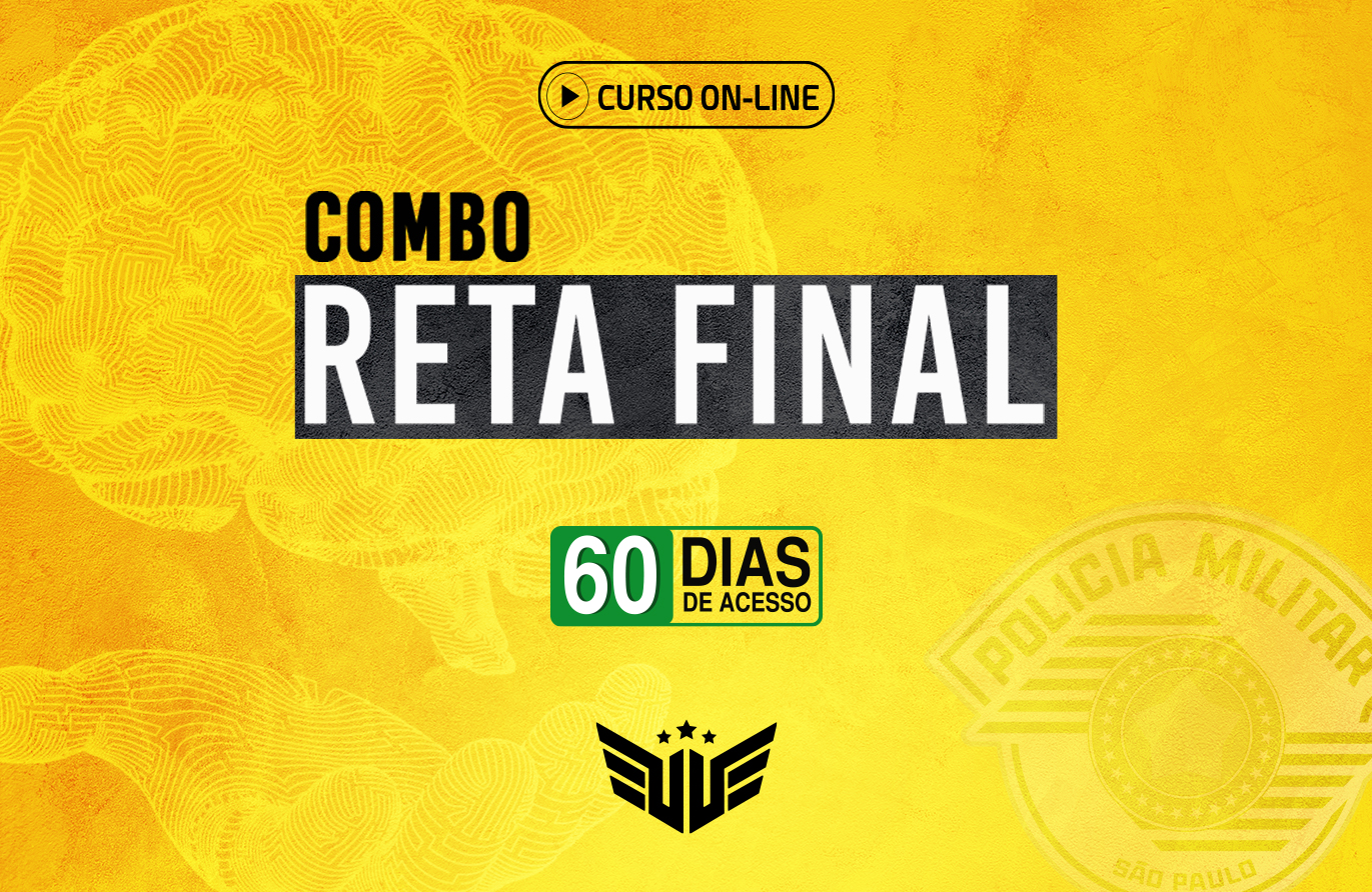 Combo Reta Final PM-SP |  Psicológico + IS - 60 dias