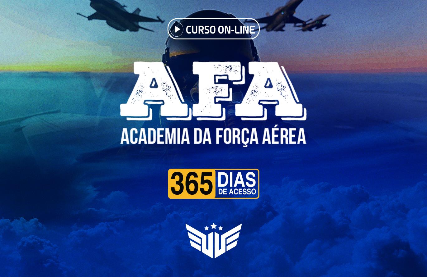 AFA | Curso Preparatório - 365 dias