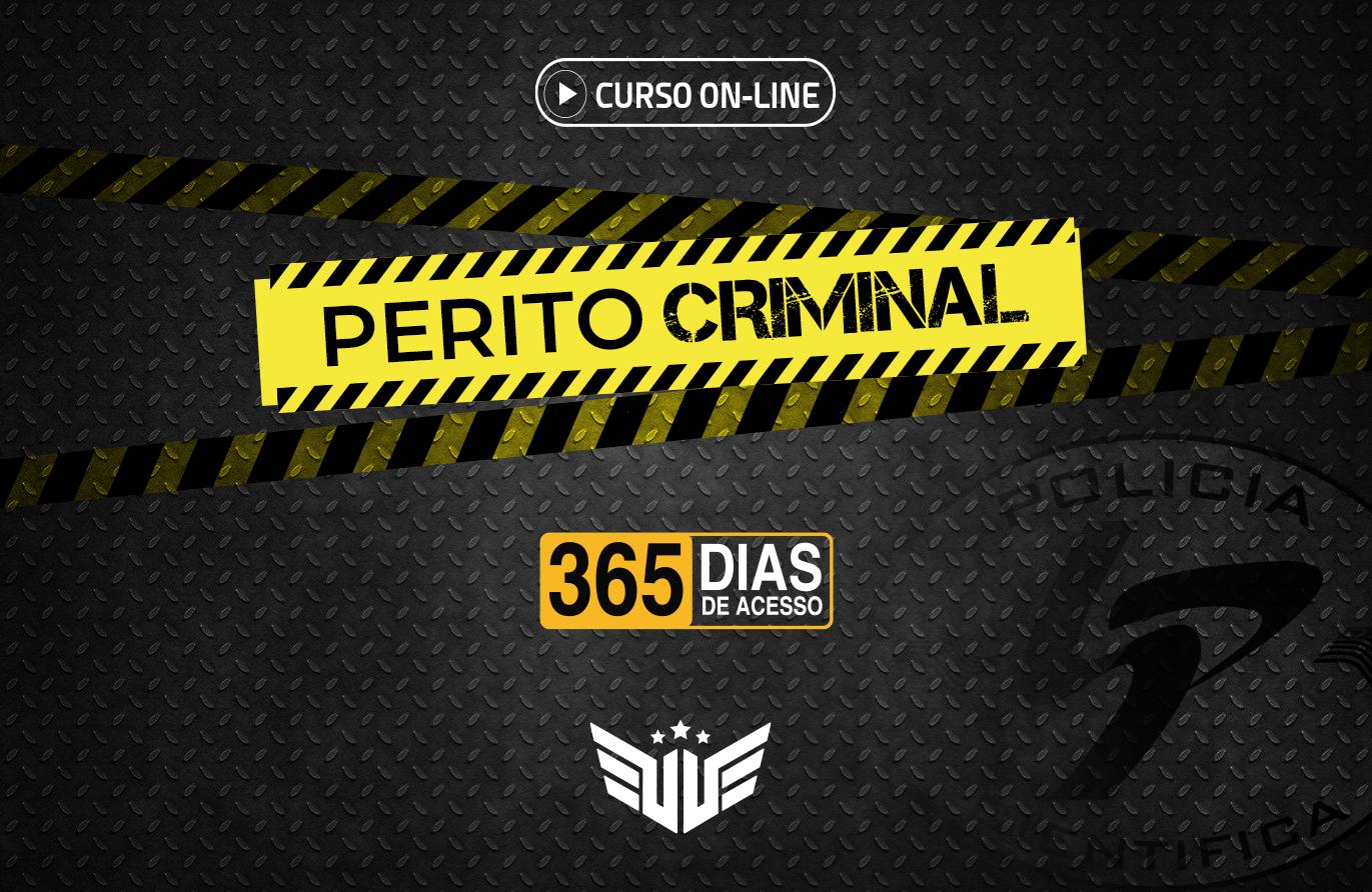 Perito Criminal | Curso Preparatório - 365 dias
