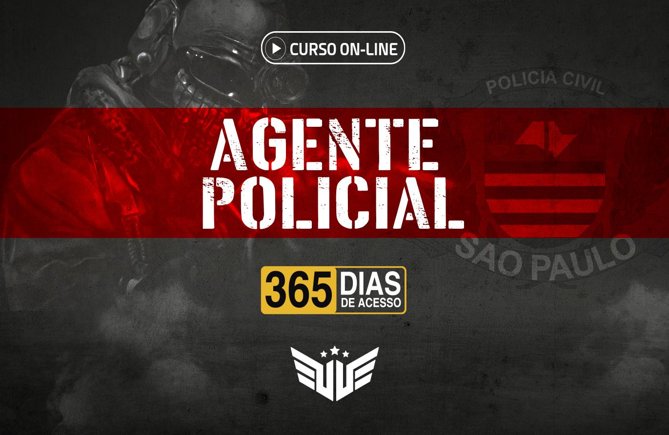 Agente Policial | Curso Preparatório - 365 dias